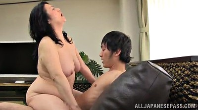 Mature, Asian, Young pussy