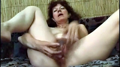 Granny, Hairy masturbation