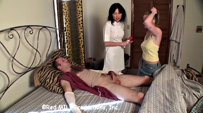 Threesome, Sister brother, Sister handjob, Brother & sister