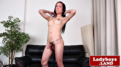 Ladyboy, Asian ladyboy, Asian shemale solo