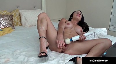 Clit, Big dildo
