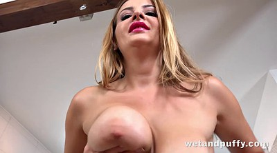 Gyno, Girls, Big tits solo, Masturbating close up