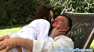 Grandpa, Old grandpa, Old cock, Grandpas, Grandpa creampie, Young creampie