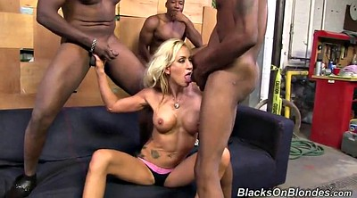 Mouth, Double anal, Gangbang interracial