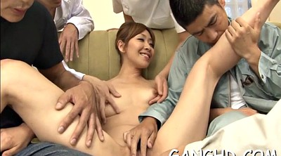 Japanese gangbang, Japanese group, Asian gangbang, Asian creampie, Japanese group creampie, Asian sex