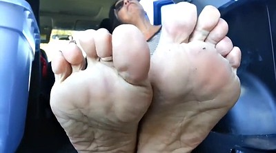 Footing, Sole, Mature feet, Mature foot, Mature soles