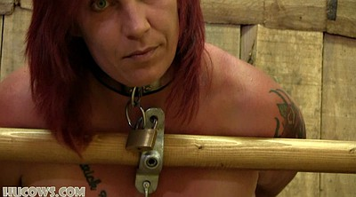 Milk, Mature bondage, Sex slave, Big milk