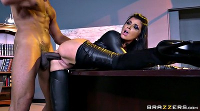 Boots, Romi rain, Leather, Busty, Glove