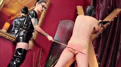 Latex, Slave, Caning