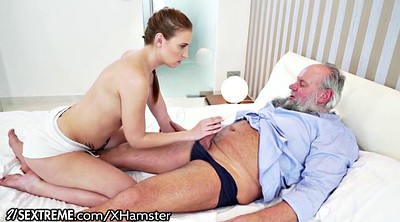 Grandpa, Kiss, Teen hairy