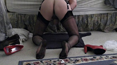 Stocking, Stockings handjob