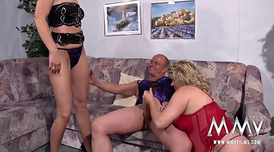Film, Old couple, Young and old, Granny couple, Big tits lesbians