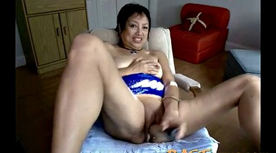 Asian granny, Asian mature, Asian webcam, Asian masturbation