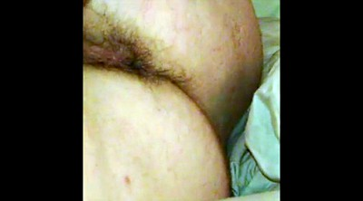 Ass, Hairy pussy