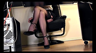 Secretary, Skirt, Skirts, Pussy flashing, Blouse