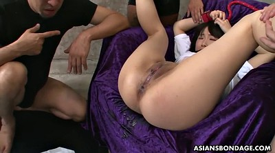 Tied, Japanese bdsm anal, Japanese bdsm, Gag, Asian bondage