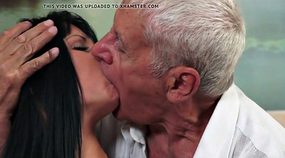 Cut, Old dad, Kissing fuck, Fuck kiss
