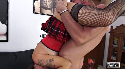 Anal casting, Italian anal, Casting amateur