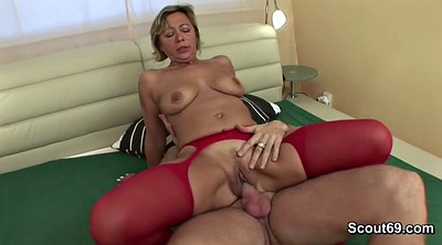 Step mom, Young boy, Mom seduce, Mom and boy