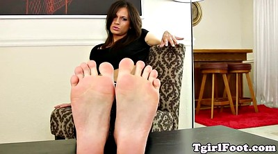 Highheel, Foot fetish, Shemale foot