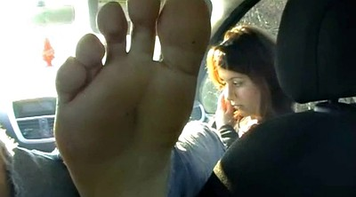 Girl, Teen feet