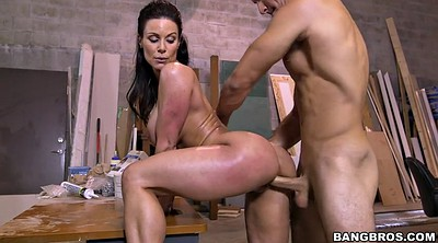 Kendra lust, From behind