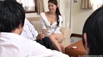 Cute asian, Monster cock, Asian gangbang
