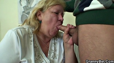 Mature boy, Young and old, Fuck granny