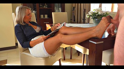Stocking foot, Mature foot, Mature stockings, Stockings foot, Foot in