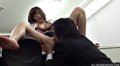 Japanese office, Japanese pantyhose, Japanese licking