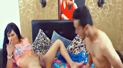 Couple, Shemale webcam