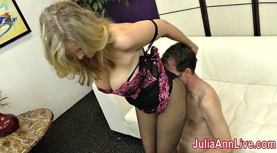 Julia ann, Foot slave, Foot slaves