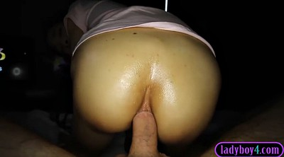 Pov, Reverse anal, Asian shemale