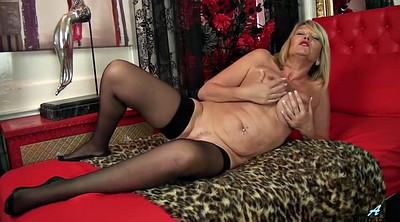 Big clit, British mature, British milf, Granny big clit