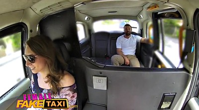 Fake taxi, Taxi, Female, Fake tits, European, Female taxi