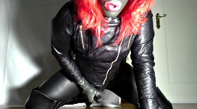Boot, Crossdresser, Crossdressing, Leather gay, Gay leather