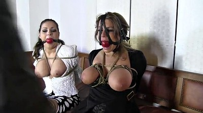 Gagging, Tied tits