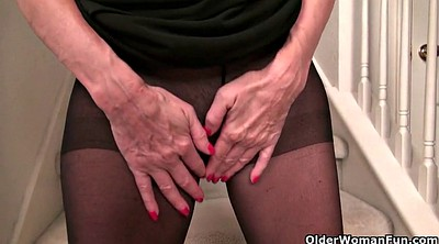 Nylon, Mature pantyhose, Pantyhose mature