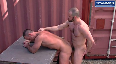 Ass, Rimming, Muscle gay, Muscle daddy