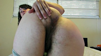 Face, Hairy ass, Sitting