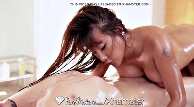 Asian mature, Mature massage, Asian milf, Tiffany rain, Tiffany, Busty asian