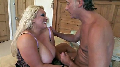 Bbw granny, Mature boobs