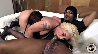 Anal interracial, High, High heeled, Doggie