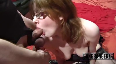 Mature gangbang, Mature group, Mature orgy