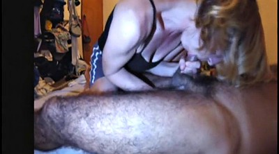 Milking, Prostate, Interracial wife, Swallow cum, Prostate milking, Hairy wife