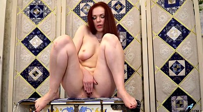 Mature redhead, Mature pussy, Alice g