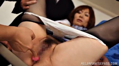 Mature gangbang, Asian mature