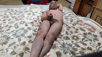 Japanese granny, Asian granny, Lie, Japanese big cock, Granny masturbation, Japanese-granny
