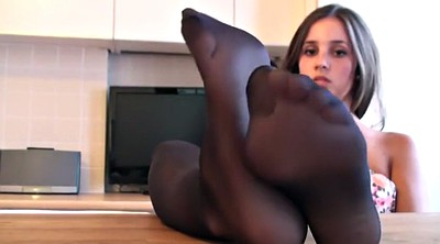 Nylon, Nylon feet, Ebony feet