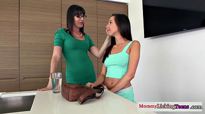 Hot mom, Lesbian mom, Hot stepmom
